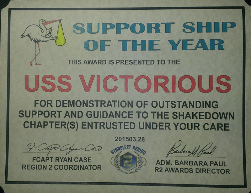 Region Two Support Chapter of the Year 2014