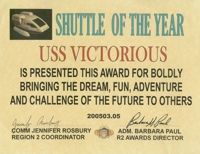 Shuttle of the Year R2 2005